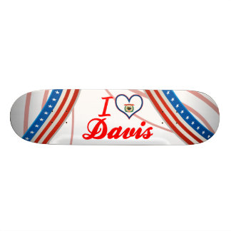 I Love Davis West Virginia Skateboards