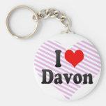 I love Davon Keychains