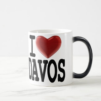 I Love DAVOS Magic Mug