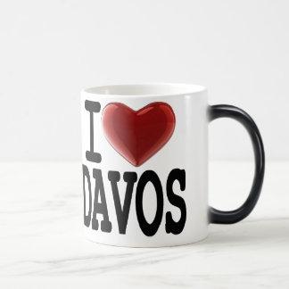 I Love DAVOS Morphing Mug