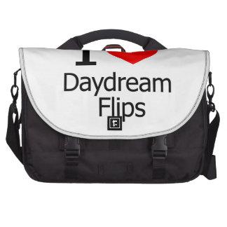 I Love Daydream Flips Computer Bag