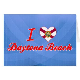I Love Daytona Beach, Florida Cards