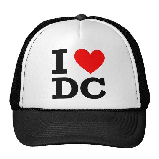 I Love DC Design Cap