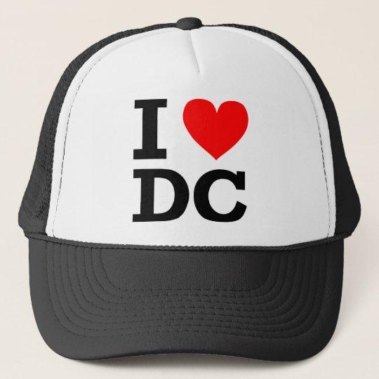 I Love DC Design Trucker Hat