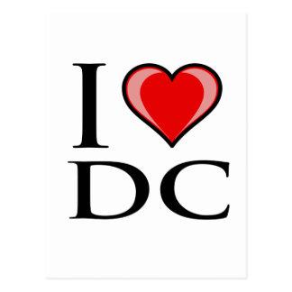 I Love DC - District of Columbia Postcard