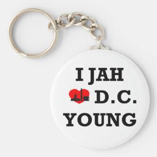 I Love DC Key Ring