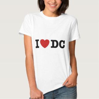 I Love DC Shirts