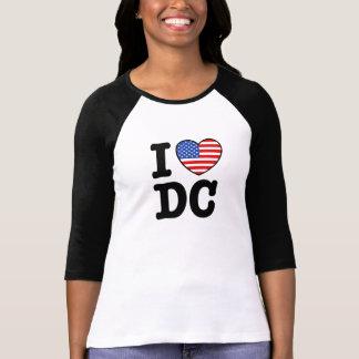 I Love DC Tees