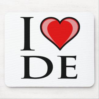 I Love DE - Delaware Mouse Mat