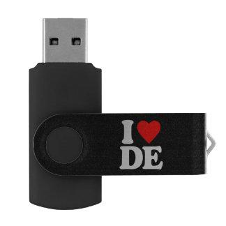 I LOVE DE USB FLASH DRIVE