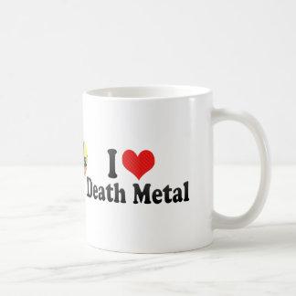 I Love Death Metal Coffee Mug