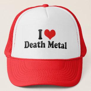 183df073866 I Love Death Metal Trucker Hat