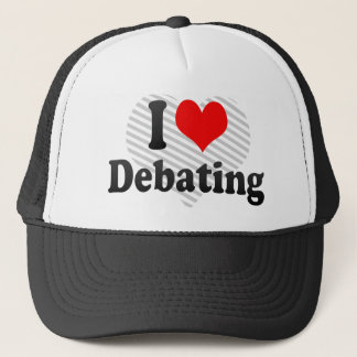I love Debating Trucker Hat