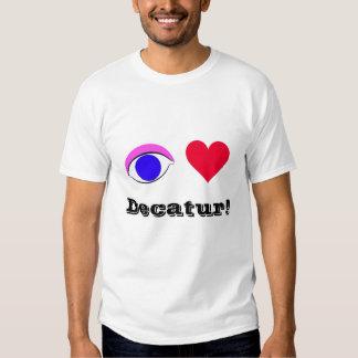 I Love Decatur - Tee Shirt