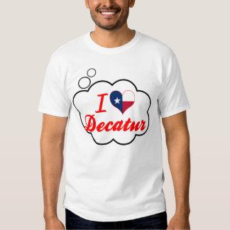 I Love Decatur, Texas Tee Shirt