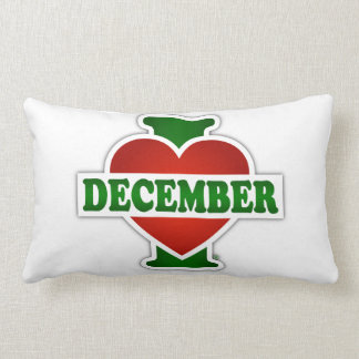 I Love December Cushions