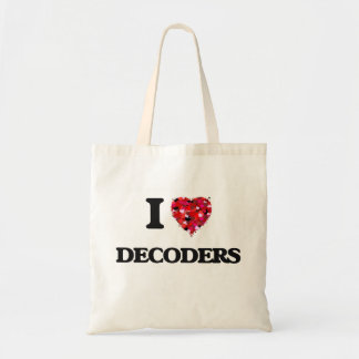 I love Decoders Budget Tote Bag