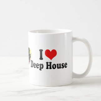 I Love Deep House Coffee Mug