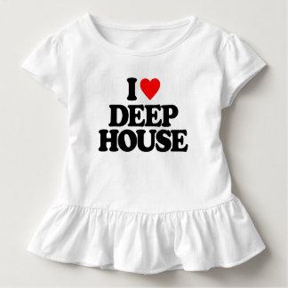 I LOVE DEEP HOUSE TODDLER T-Shirt