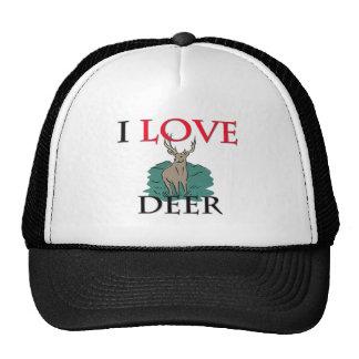 I Love Deer Trucker Hat