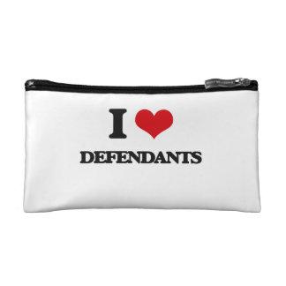 I love Defendants Makeup Bag