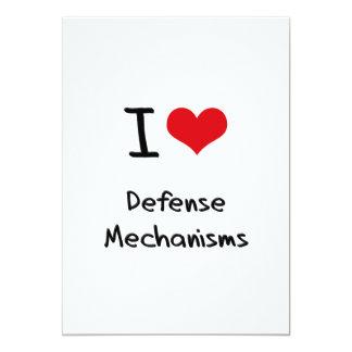 I Love Defense Mechanisms Custom Invitations