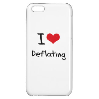 I Love Deflating Case For iPhone 5C