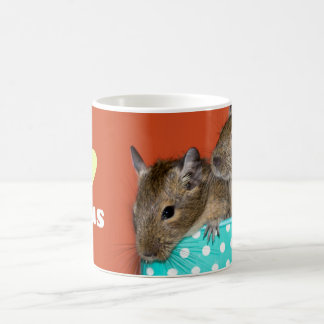 I Love Degus Coffee Mug