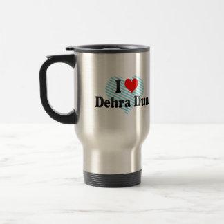 I Love Dehra Dun, India Stainless Steel Travel Mug