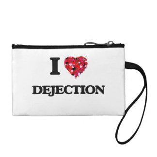 I love Dejection Change Purses