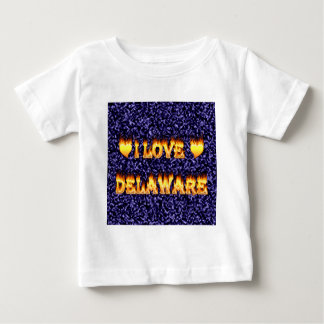 I love delaware fire and flames shirts