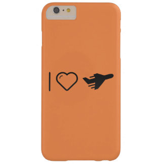 I Love Delivery Planes Barely There iPhone 6 Plus Case