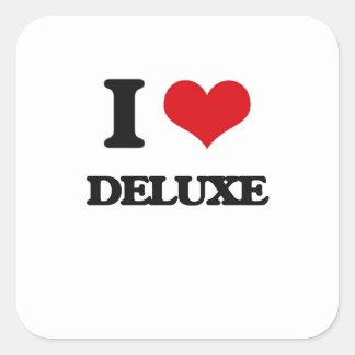 I love Deluxe Square Sticker