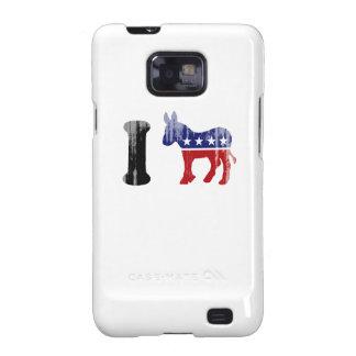 I Love Democrats 1 Faded.png Samsung Galaxy S2 Case