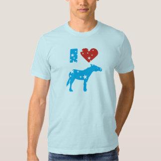 I Love Democrats Shirt