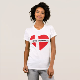 I LOVE DENMARK HEART T-Shirt