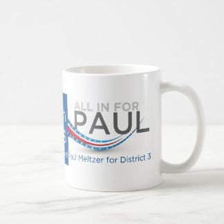 I love Denton - All In for Paul Coffee Mug