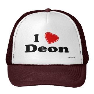 I Love Deon Trucker Hat