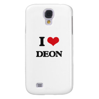 I Love Deon Galaxy S4 Case