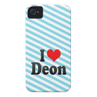 I love Deon iPhone 4 Covers