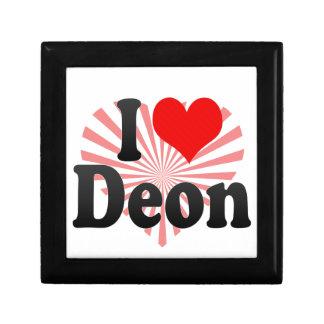 I love Deon Trinket Boxes