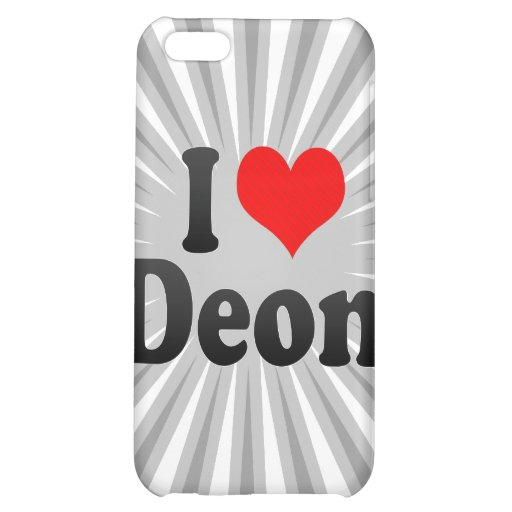 I love Deon Case For iPhone 5C