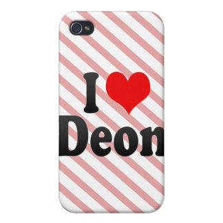 I love Deon iPhone 4 Case