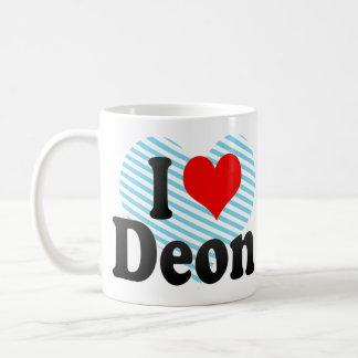 I love Deon Coffee Mug