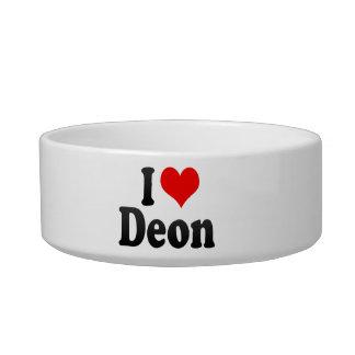 I love Deon Cat Bowls