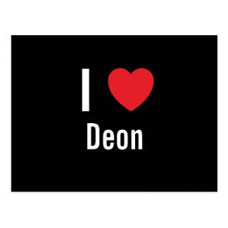 I love Deon Postcards