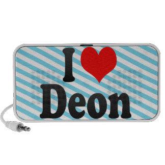 I love Deon Travelling Speaker
