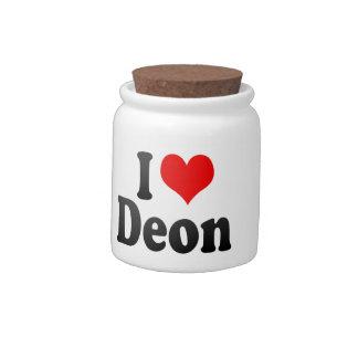 I love Deon Candy Dish