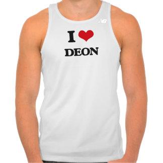 I Love Deon Shirts