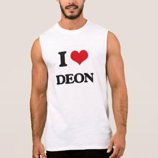I Love Deon Sleeveless Tees